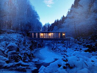 the river home concept architecture