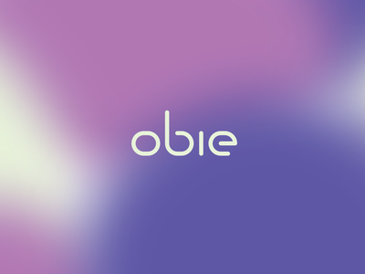 Obie obie platform real estate cre vector brand typography mark logos design logo branding identity