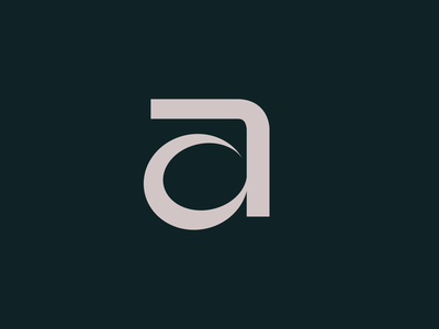 a letter a logo vector brand typography design identity branding letter a a