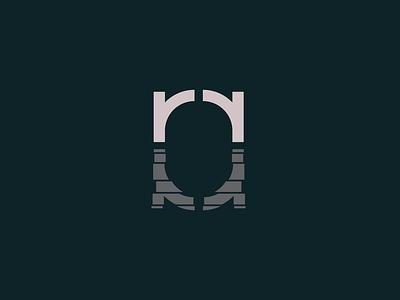 Ryan Reflects effects mirror reflection illustration vector mark brand logos typography design logo branding identity