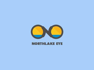 Northlake Eye opthalmology optician optometry identity logo branding eye care eye