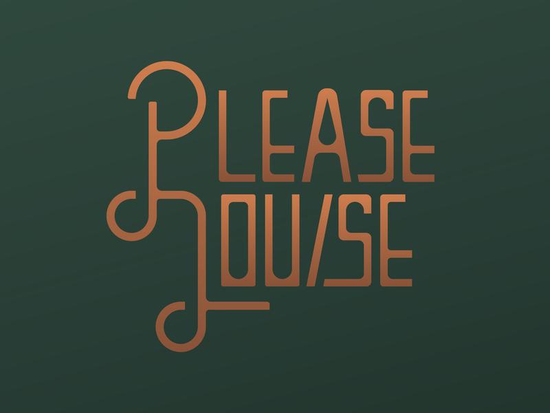 Please Louise logos typography logo restaurant branding identity