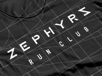 The ZRC logo golden section jersey running design identity branding typogaphy