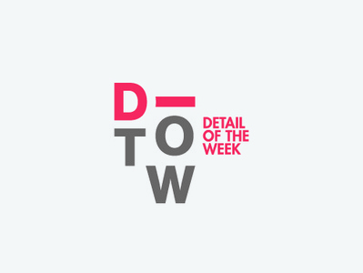 D-Tail design letter d detail logo