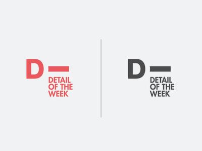 D-Tail Alt. letter d detail design logo