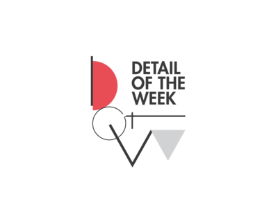 DOTW shapes typography branding logo