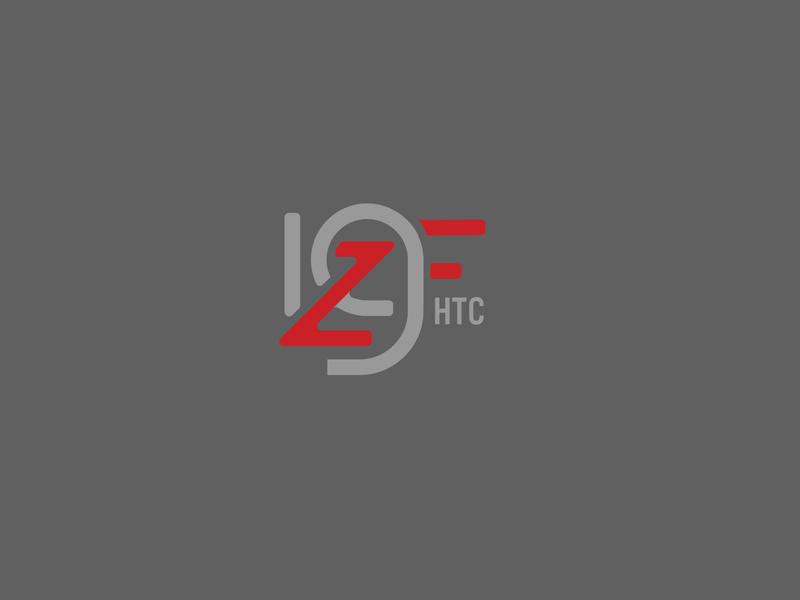 ZGF Hood to Coast '19 monogram race running hood to coast vector typography design logo branding
