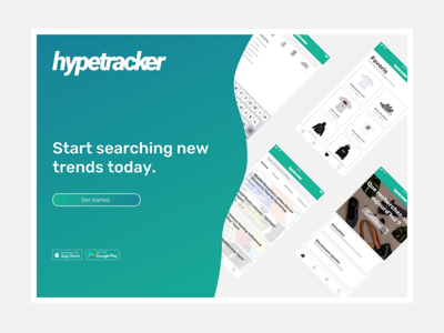 Hypetracker - mobile app