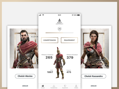 Assassin's Creed Odyssey - mobile app