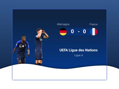 Allemagne - France results