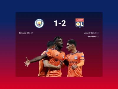Manchester City - Olympique Lyonnais