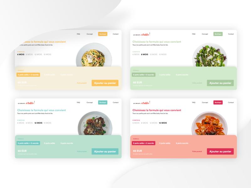 Online shop colors concept france webdesign design ui ux colors palette eshop shop colors
