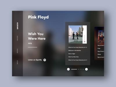 Pink Floyd  website