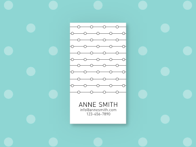 Simply Business - Business Card templates, Template #2