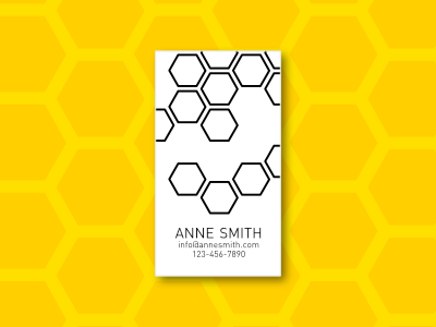 Simply Business - Business Card templates, Template #3