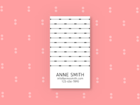 Simply Business - Business Card templates, Template #4