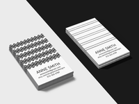 Simply Business - Business Card templates, Template #5 and #6