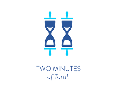 Two Minutes of Torah sand timers chabad