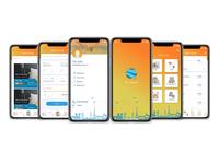 The Tourist app Iphone X UI