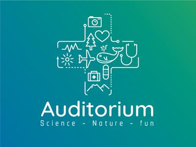 + Auditorium travel tourism science medical icons auditorium amphiteater