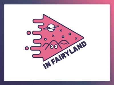 In Fairyland logo video creatures