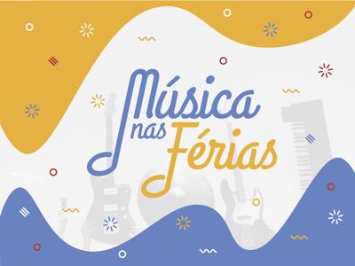 Musica nas ferias logo note wave music