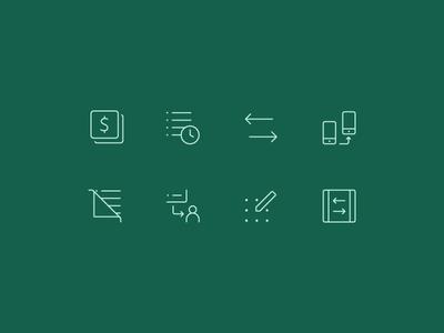 Icon set - menu