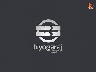 Biyogaraj Logo logotype logo