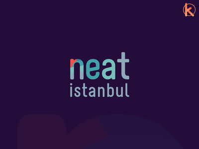 Neat Istanbul Logo logotype logo