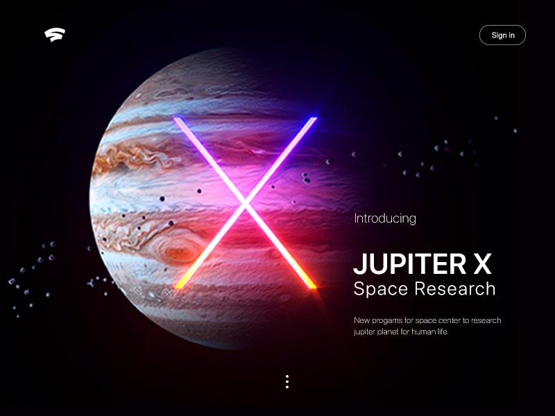 Jupiter Space Research dribbble dribbble debut figma web  design app webdesign homepage screen design ux graphic  design logo vector web art cinema 4d 3d ui photoshop illustration design