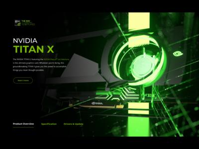 Nvidia TITAN X web page