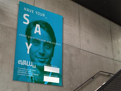Poster design #2 duotone education branding communication design visual design