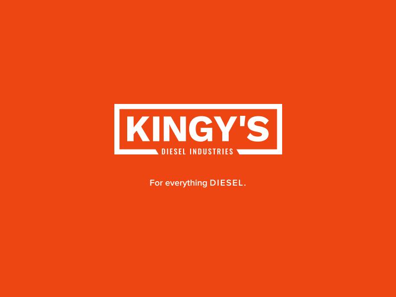 Kingy's Diesel Industries Logo design logo branding