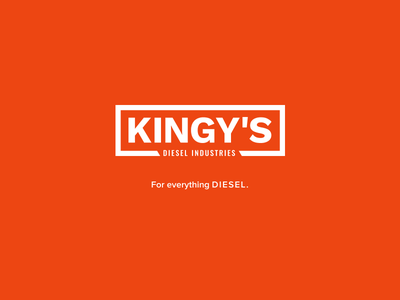 Kingy's Diesel Industries Logo design logo branding