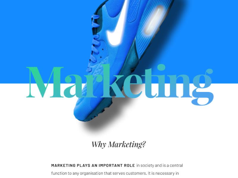 Marketing education branding design ui web design ui design