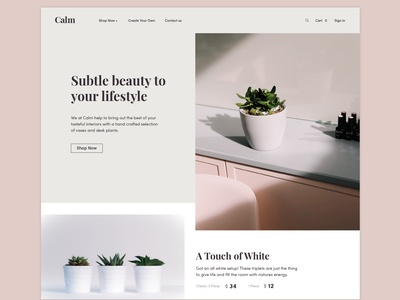 Plants by Calm