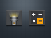 Flashlight And Calculator