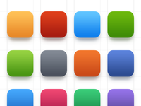 Colour pallette for ios7