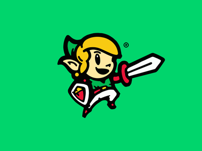 Zelda Logo Illustration Designs Themes Templates And Downloadable Graphic Elements On Dribbble