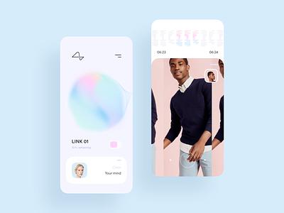 Neuralink App line mind neuralink design app ui mobile