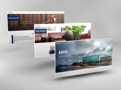 Web Design | Law Firm: ADVEL