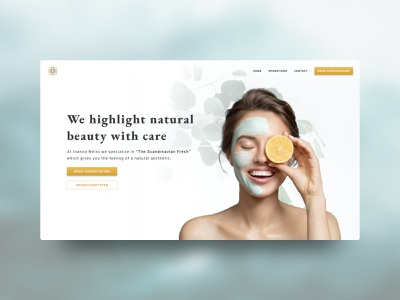 Web Concepts | Plastic Surgery Clinic beauty web design website plastic surgery clinic web health wellness wordpress health care ui clean organic