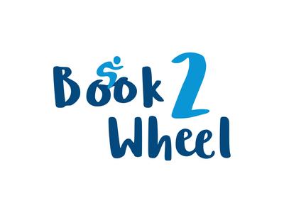 Logo Design - Book 2 Wheel
