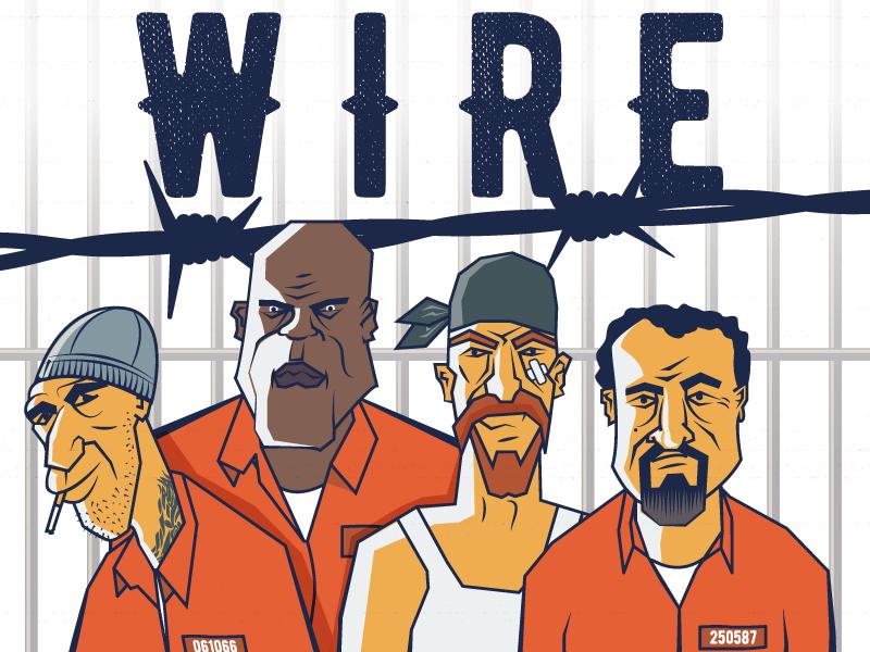 2011. Some old work tv cartoon prison 2011