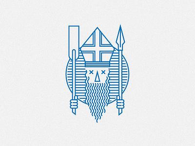 Legend of St. Wojciech logo vector