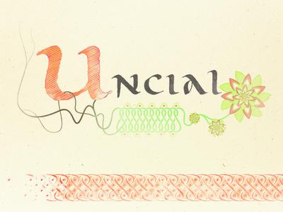 Uncial — free font
