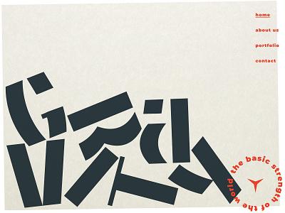 Gravity logotype typogaphy icon app ui ux branding design logo home website