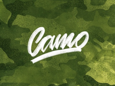 Camo graphicdesign shape camo illustration font handlettering lettering
