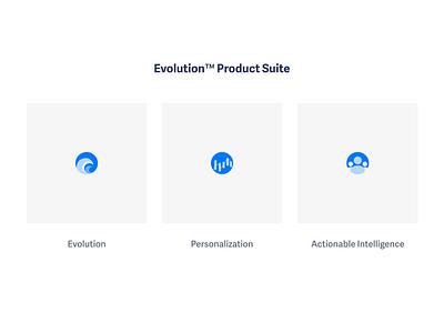 Button Evolution™ Product Suite flat branding design icons
