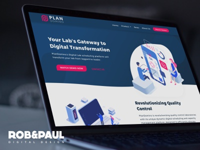 Plan Domino - Web Design web design branding web design